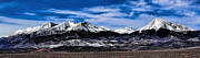 Jon Burch Photography Posters - Blanca Mountains near Fort Garland Colorado Poster by Jon Burch Photography