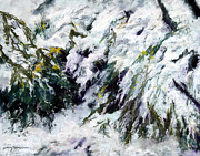 Snow Pastels - Blanket of Snow by Shelley Koopmann