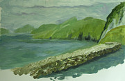 Stonewall Painting Originals - Blaskets by Eileen Arnold