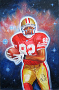 49ers Painting Prints - Blast Off Print by Dominic Giglio