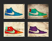 Nike Metal Prints - Blazer set Metal Print by Alfie Borg