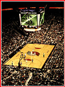 Portland Trailblazers Prints - Blazers Game Print by Oregon  Photography-Brandon Marcin