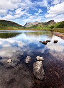 Water Reflections Photos - Blea Tarn by Alexis Birkill