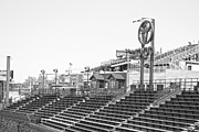 Chicago Cubs Field Framed Prints - Bleachers Framed Print by David Bearden