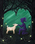 Dreamscape Originals - Bleating Heart by Kerri Ertman