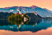Slovenia Photos - Bled 06 by Tom Uhlenberg