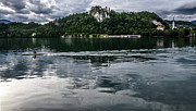Quadro Art - Bled Lake Landscape by Luca Lorenzelli