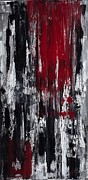 Blending Painting Posters - Bleeding Heart Poster by Kerri Ertman