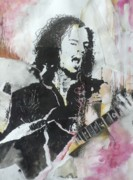 Metallica Mixed Media - Bleeding Me by Chad Rice