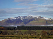 Wainwrights Framed Prints - Blencathra/Saddleback Framed Print by Linsey Williams