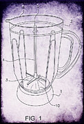 Blender Patent Print by Edward Fielding