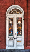 French Quarter Doors Framed Prints - Bless All Those Who Step Inside Framed Print by Brenda Bryant