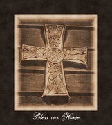 Eva Thomas - Bless our Home Cross