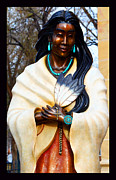 St. Francis Of Assisi Photos - Blessed Kateri Tekakwitha by Susanne Still