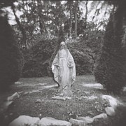 Holga Image - Blessed Virgin With One Hand by Lynn-Marie Gildersleeve