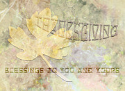 Sarah Vernon Prints - Blessings to You and Yours Print by Sarah Vernon