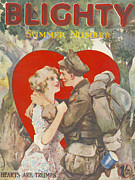 Blighty 1918 1910s Uk First Issue Ww1 Print by The Advertising Archives