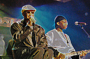 Arts Culture And Entertainment Originals - Blind Boys of Alabama by Don Olea