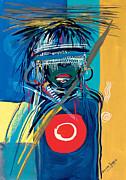 Blind To Culture Print by Oglafa Ebitari Perrin