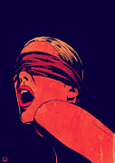 Blindfolded Print by Giuseppe Cristiano