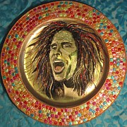 Steven Tyler Mixed Media - Bling Art  by Jeepee Aero