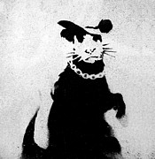 Bling Rat  Print by A Rey
