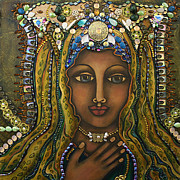 Visionary Artist Painting Originals - Bliss by Marie Howell Gallery