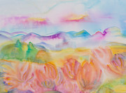 Aotearoa Paintings - Bliss of Ease by Evita Kristapsone