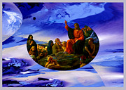 Sermon On The Mount Prints - Bloch Jesus Sermon Print by Robert Kernodle