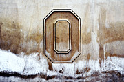 Buckeyes Framed Prints - Block O Framed Print by Rachel Counts