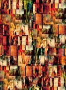 Blocks Print by Paul St George