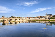 Loire Valley Prints - Blois Loire Valley France Print by Colin and Linda McKie