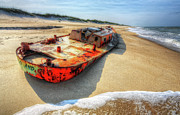 Storm Prints Metal Prints - Blood and Guts I - Outer Banks Metal Print by Dan Carmichael