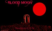 King James Posters - Blood Moon Poster by Sherry Gombert