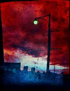 Jon Aley - Blood Red Cloud Over City