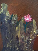 Dave Matthews Painting Acrylic Prints - Bloom Where Youre Planted Acrylic Print by Laurette Escobar