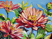 Suzanne Willis Metal Prints - Blooming Everyday Metal Print by Suzanne Willis