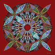 Walter Oliver Neal - Blooming Mandala 2