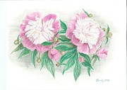 Eve-Ly Villberg - Blooming peonies