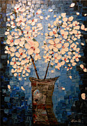 Contemporary Art Reliefs - Blossom Bouquet by Alexandru Rusu