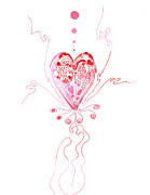Regina Valluzzi - Blossoming Love pink and...
