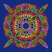 Walter Oliver Neal - Blooming Mandala 8