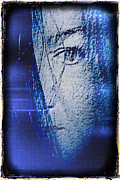 Dreamy Expression Digital Art - Blu Mourning by Susan Maxwell Schmidt