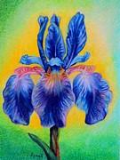 Blue ... Print by Zulfiya Stromberg