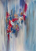 Julia Apostolova - Blue Abstract Landscape