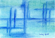 Linda Ginn - Blue Abstract