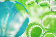 HJBH Photography - Blue and Green Bubble art