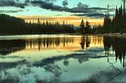 Adam Jewell - Blue And Orange Reflections