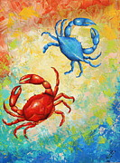 Gabriela Valencia - Blue and Red Crabs