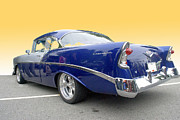 Custom Chev Photos - Blue and Silver Chevrolet by Bill  Thomson